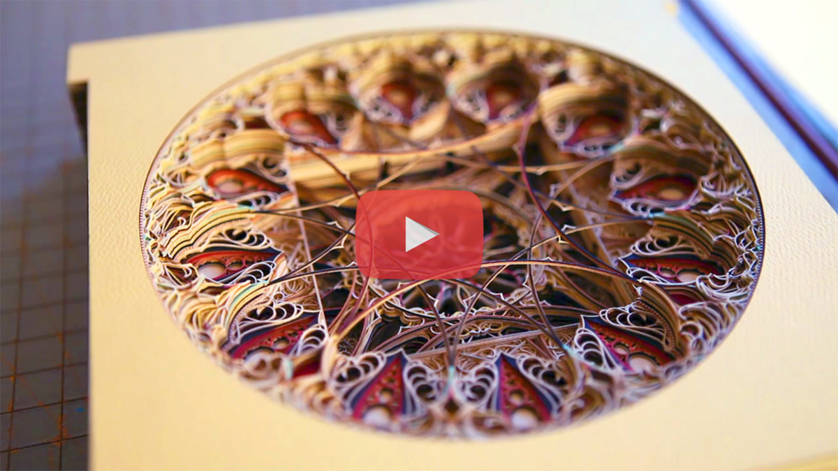 Cutting Edge Artwork Of Eric Standley IBookBinding Free - Beautiful laser cut paper art eric standley