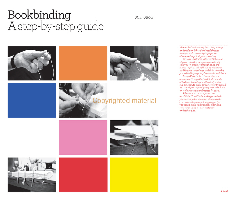Bookbinding, A Step-by-step Guide