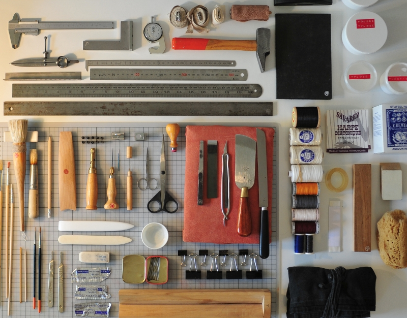Bookbinding-equipment-tools-and-materials