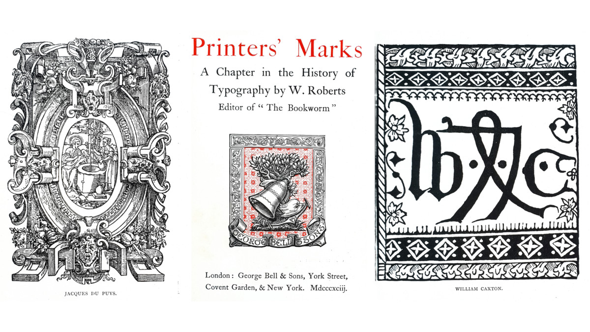 2018.12.13 - Printers' Marks A Chapter in the History of Typography