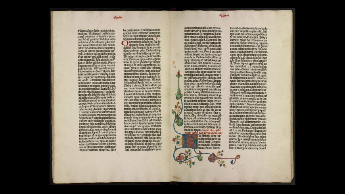 2019.09.20 - Gutenberg and After - Exhibition at Princeton University Library Explores the Early Printed Books