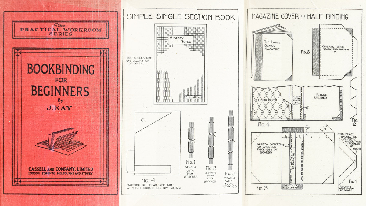 2019.10.24 - Bookbinding for Beginners (J. Kay, 1931)