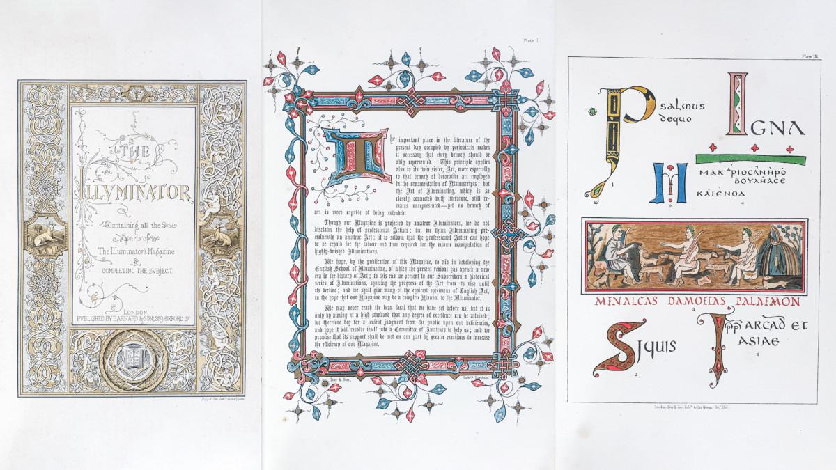 The Illuminator. Containing all the parts of The Illuminators Magazine & completing the subject (Barnard & Sons, Lodon, 1862)