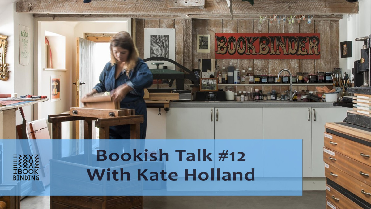 2021.02.26 - Bookish Talk #12 - Kate Holland